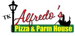 TK Alfredo's Pizza logo