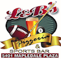 L & B's Pizzeria & Sports Bar logo
