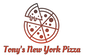 Tony's New York Pizza logo