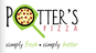 Potter's Pizza logo
