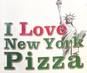 I Love New York Pizza logo