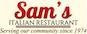 Sams Italian Restaurant logo