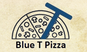 Blue T Pizza logo