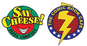 Say Cheese Pizza Company & The Comic Book Cafe logo