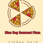 Blue Dog Gourmet Pizza logo