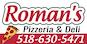 Roman's Pizzeria & Deli logo