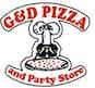 G & D Pizza & Party Store logo