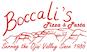 Boccali's Pizza & Pasta logo