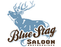 The Blue Stag Saloon logo