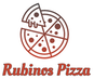 Rubinos Pizza logo