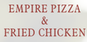 Empire Pizza & Fried Chicken logo