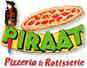 Piraat Pizzeria & Rotisserie logo