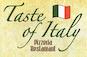 Taste of Italy Restaurant & Pizzeria NYC logo