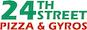 24th Street Pizza & Gyros logo