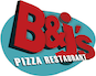 B & J's Pizza  logo