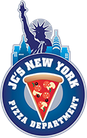JC's New York Pizza Department logo