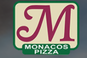 Monaco's Pizza logo