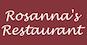 Rosanna's Restaurant logo