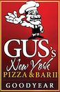 Gus's New York Pizza & Bar logo