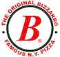 The Original Bizzarro Famous N.Y. Pizza logo
