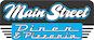 Main Street Diner & Pizzeria logo