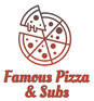 Famous Pizza & Subs logo