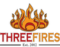 Three Fires Pizza logo