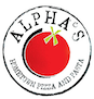 Alpha's Home Town Pizza & Pasta logo