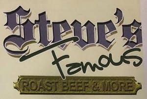 Steve's Famous Roast Beef & More