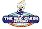 The Mad Greek Pizzeria logo