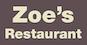 Zoe's Restaurant logo
