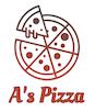 A's Pizza logo