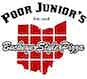 Poor Junior's Pizza logo