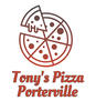Tony's Pizza Porterville logo