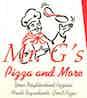 Mr G`s Pizza logo