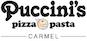 Puccini's Smiling Teeth Pizza logo