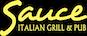 Sauce Italian Grill & Pub logo