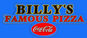 Billy's Famous Pizza logo