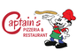 Captain's Pizza & Grill logo