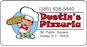 Dustin's Pizzeria logo