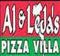 Al & Leda's Pizza Villa logo