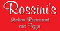 Rossini's Italian Restaurant & Pizza logo