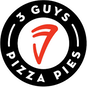 Three Guys Pizza Pies - Collierville logo