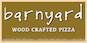 Barnyard Wood Crafted Pizza logo