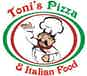Toni's Pizza & Italian Food logo