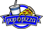 Pop N Pizza logo