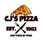 CJ's Pizza & Subs logo