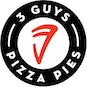 Three Guys Pizza Pies logo
