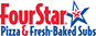 Fourstar Pizza & Fresh Baked Subs logo
