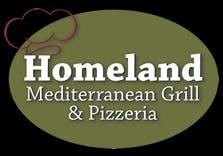 Homeland Mediterranean Grill & Pizzeria